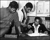 Lamont Dozier, Brian Holland,and Eddie Holland
